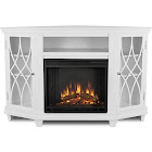 Real Flame - Lynette Electric Fireplace - White