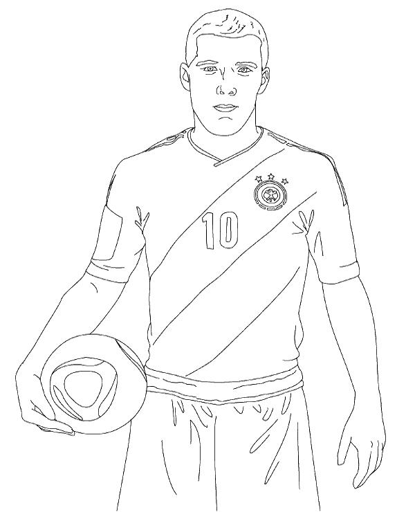 football coloring sheets 26