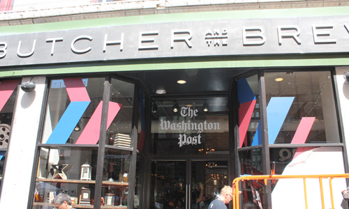 Butcher and ther Brewer became the Washington Post