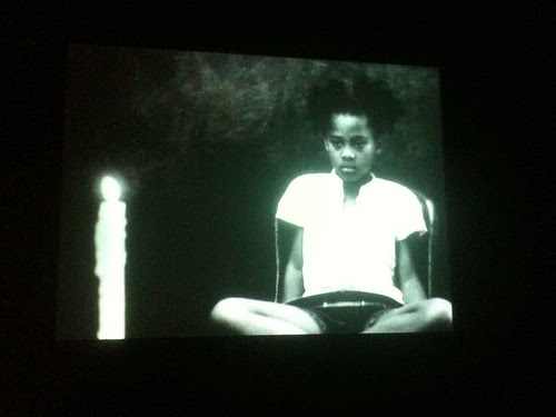 "Image from a Kevin Jerome Everson film, ""Act One: Betty,"" Whitney Museum"