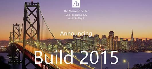 Microsoft teases new products for Build 2015 | ThemeReflex