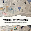 Write Or Wrong!