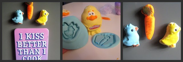 Play-Doh Chick Stamps