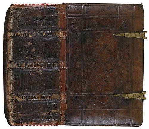 Calf leather + brass (Augustine + Heinrich mss) 1440-1460