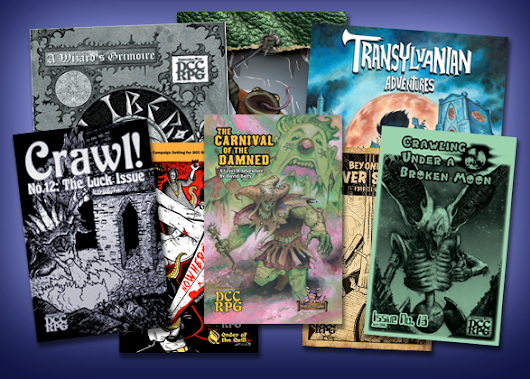 New Feature: DCC Third Party Publisher Store|Goodman Games