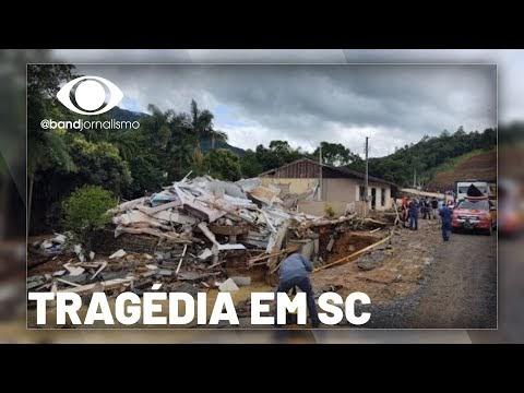 Tragédia: a situação em Santa Catarina após o temporal que causou mortes