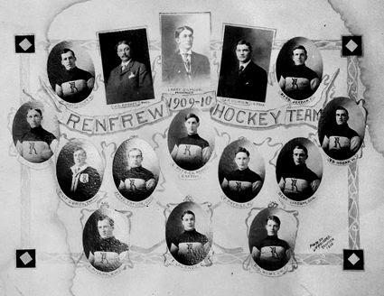1909-10 Renfrew Millionaires, 1909-10 Renfrew Millionaires