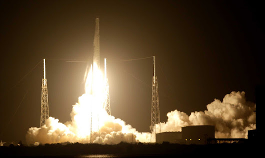 SpaceX takes Houston company's ship-tracking tech into space