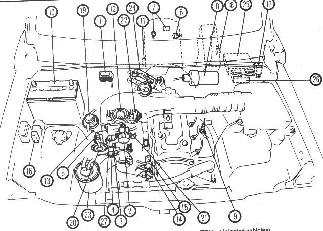 1994 Geo Metro 1 0l Engine Diagram - Wiring Diagram Schema