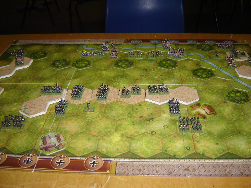 French take up strong defensive positions north of Rolica