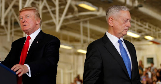 Mattis is out of the loop and Trump doesn't listen to him, say officials