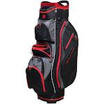 Orlimar Golf CRX Cooler Cart Bag, Black/Red/Charcoal