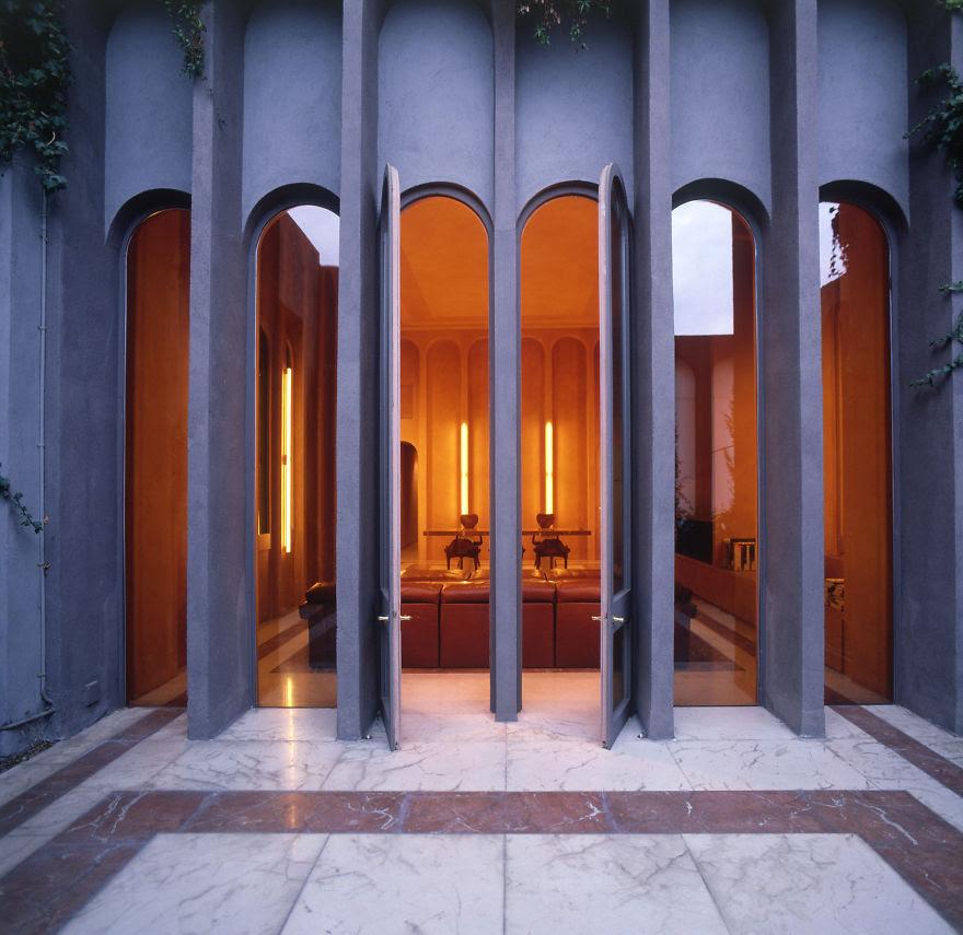 Ricardo Bofill casa personal cemento 3