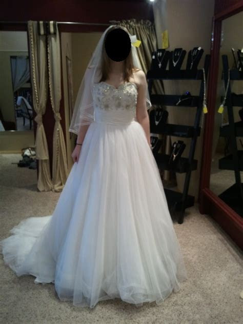 Does this wedding dress look too much like a prom dress?