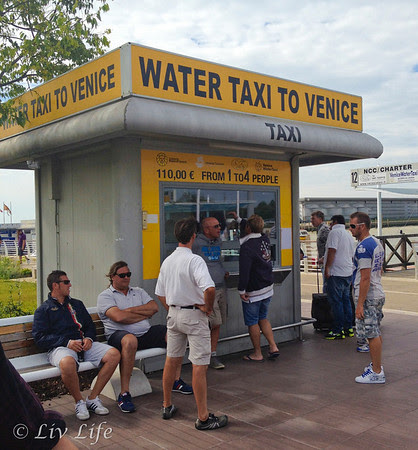 water taxi, venice, italy, marco polo airport