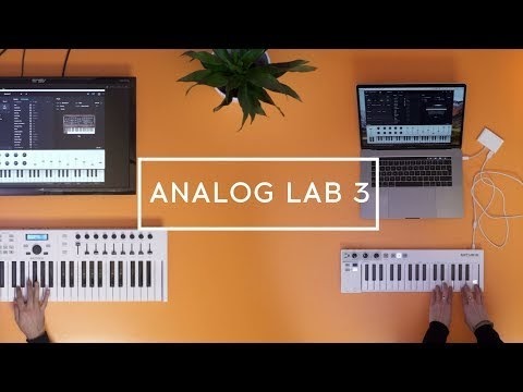 Arturia announces Analog Lab 3