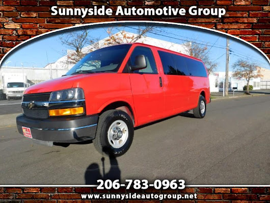 Used 2010 Chevrolet Express LT 3500 Extended for Sale in Seattle WA 98133 Sunnyside Automotive Group