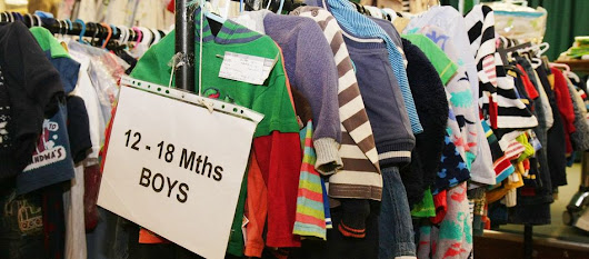 Pick up baby and children's clothes from as little as 30p