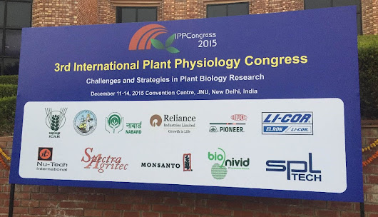 3RD INTERNATIONAL PLANT PHYSIOLOGY CONGRESS