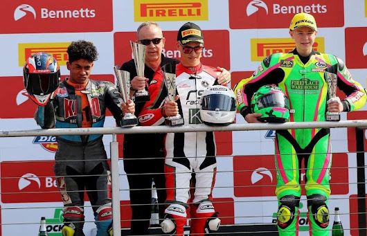 Andover rider wins at Brands Hatch and breaks 16 year-old lap record | Love Andover