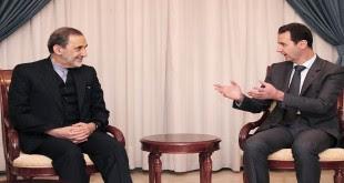 President al-Assad - Velayati 1