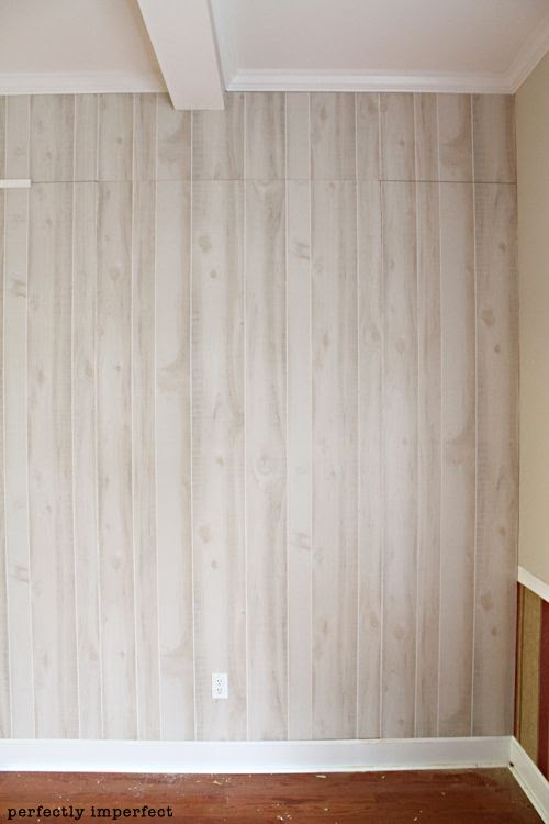 How To Install Wall Paneling Perfectly Imperfect Blog