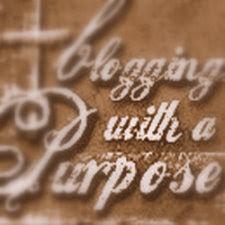 "joni's ""blogging with purpose""  award"