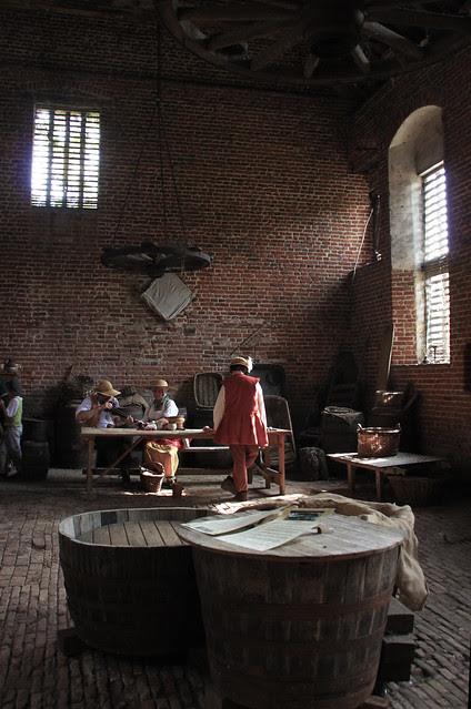 Kentwell Hall - Brewery room