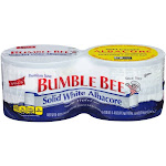 Bumble Bee Solid White Albacore Tuna in Water - 5oz/4ct