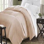Blue Ridge Home Microfiber Down Alternative Comforter, Khaki, Twin