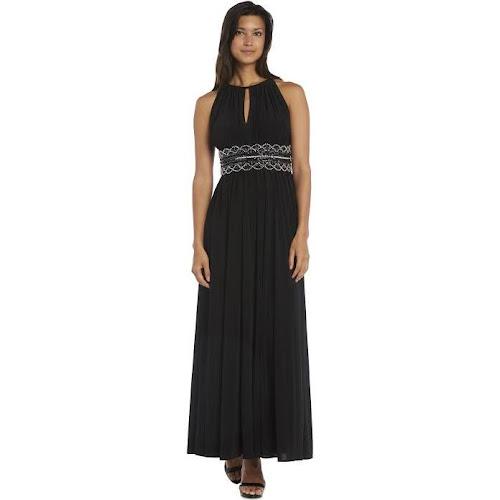 Google Express - R & M Richards Plus Size Dress, Sleeveless Beaded ...
