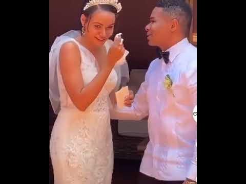   Viral   Hija de Raymond Pozo se casa, y se hace viral video del humorista entregándola en el altar