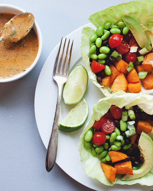 chile and lime veggie bowls