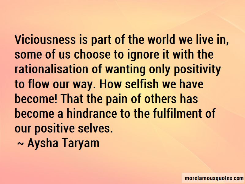 We Live In A Selfish World Quotes Top 19 Quotes About We Live In A