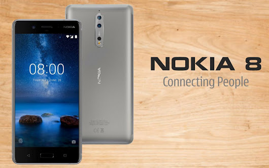 HMD Global Presents New Nokia 8 Android Smartphone