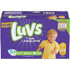 Luvs Ultra Leakguards Diapers, Size 5 - 124 count