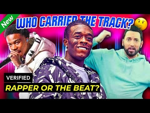 POPULAR RAP SONGS: Rapper vs. The Beat – Who Carried the Track?