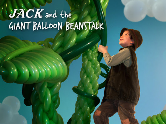 The VERY Tall Tale of Jack & His Beanstalk - Giant Sculpture