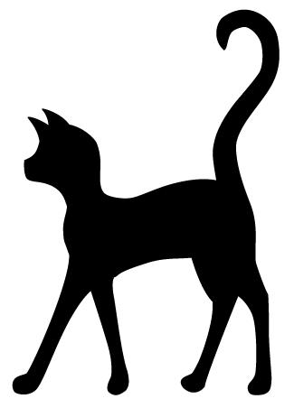 Download Walking Cat Silhouette at GetDrawings | Free download