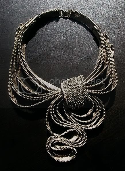 My Scarf Zipper Necklace