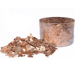 Crystal Candy Edible Flakes Rose Gold Love, 7 Grams