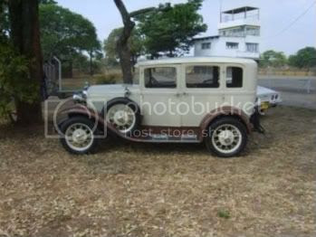 Alec Henderson�s Ford Model A