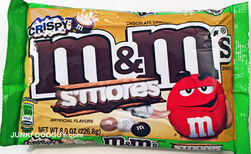 Review: Crispy S'mores M&M's & HERE COME THE ROBOT SUITS | Junk Food Guy: Your Daily Snack of Junk Food, Pop Culture, & Awkwardness