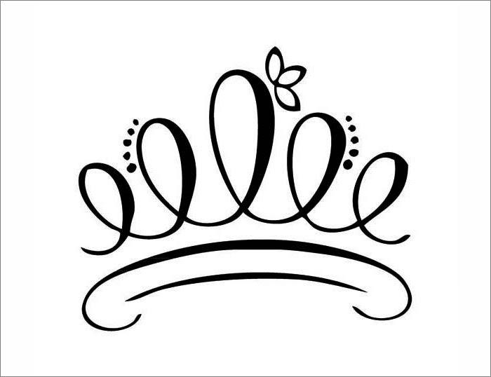 king crown drawing 28