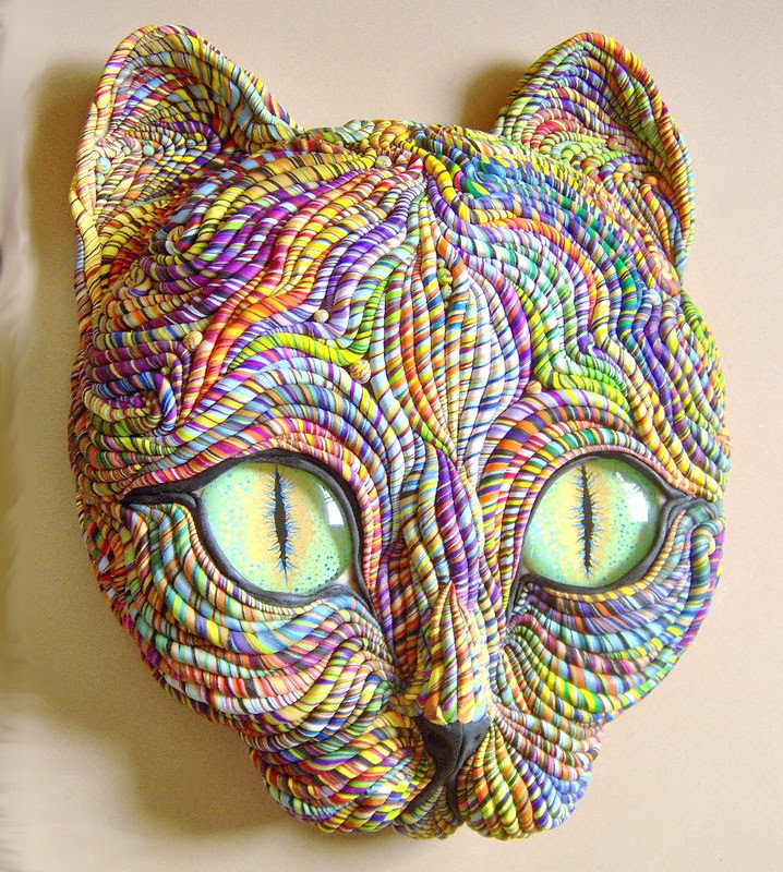 Cosmic Cat Sculpture Large