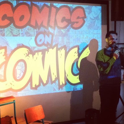 Comics on Comics  Thurs Apr 23, 8pm (doors 7:30)  $6 adv (+s/c); $10 door