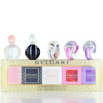 Bvlgari 5 Pcs Women's Gift Collection Mini Set