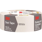 "3M 1060-WHT-A Scotch Duct Tape, White, 1.88"" x 60 yds"