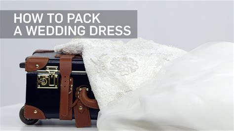 How to Pack a Wedding Dress   Travel   Leisure   YouTube