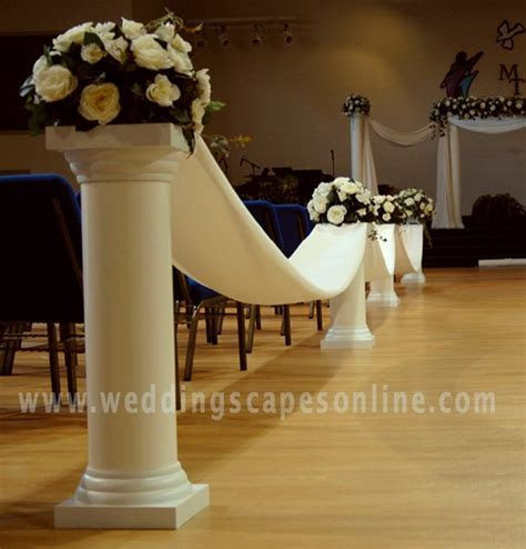 Photo Gallery   Wedding columns, Display Columns, Plastic